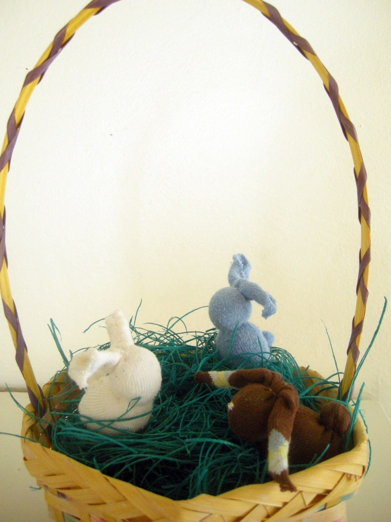 easter gifts:the quick little bunny tutorial