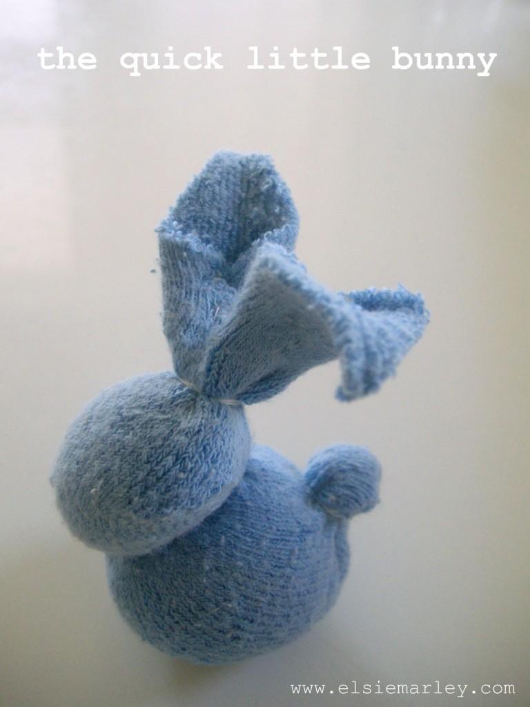 little stuffed bunny